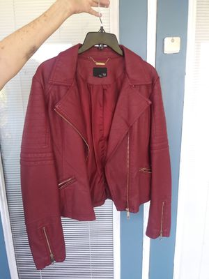 Ladies leather jacket (ana) for Sale in Avon Park, FL