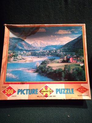 Antique Jigsaw Puzzle for Sale in Northfield, NH