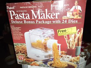 Brand new Popeil Pasta maker for Sale in Largo, FL