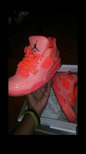 Hot Pink Air Retro Jordan 4s sz9.5 WMNS sz8 Men for Sale in Houston, TX