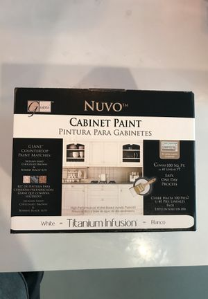 Nuvo WHITE cabinet paint set - BRAND NEW for Sale in Oakland, CA