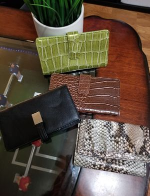 4 Wallets for $25 for Sale in Rio Linda, CA