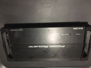 POWER ACOUSTIC AMP for Sale in Kissimmee, FL