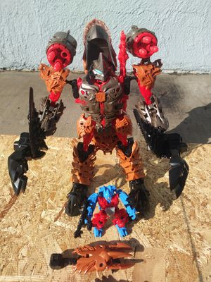 Hasbro Tomy Transformers Construct Bots Grimlock and Optimus Prime Action figures for Sale in Montebello, CA