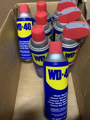 7 - 11oz. cans of WD40 $40 for Sale in South San Francisco, CA
