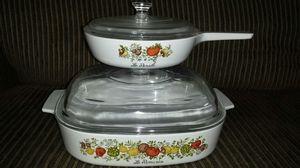 Corningware Spice of Life ovenware for Sale in Indianapolis, IN