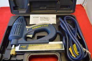 Nail Master 2 Electric Brad Gun ET200 for Sale in Des Plaines, IL