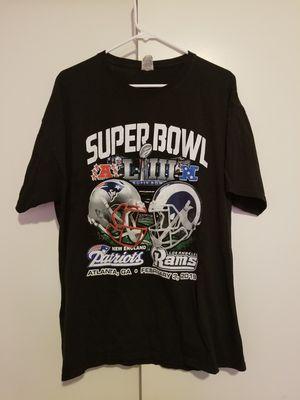 Vintage 2019 Superbowl Patriots vs Rams tee, Mens sz XL, $20 pls read description! for Sale in Anaheim, CA