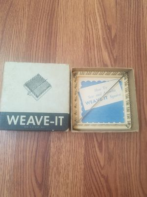 Antique Weave-It weaving loom sewing collectible for Sale for sale  Woodbine, NJ