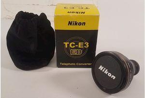 Nikon TC-E3 ED Tele converter lense for Sale in Kent, WA