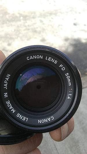 Canon lens FD 50mm 1:1.4 like new for Sale in San Francisco, CA