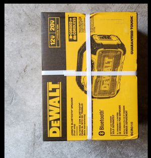 Dewalt 20v bluetooth speaker brand new for Sale in Long Beach, CA