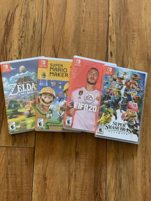 Nintendo Switch Games. (Sealed) for Sale in Bellflower, CA