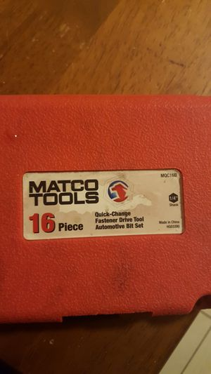 Matco tools for Sale in Germantown, MD