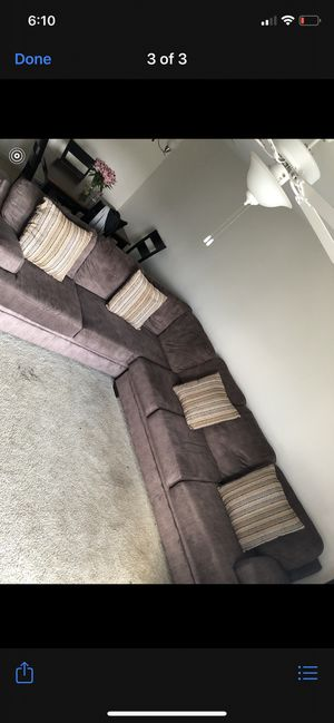 2 piece Sectional couch 1 year old for Sale in Columbia, SC