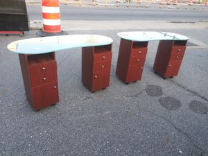 Nail Tech Tables $200 Each for Sale in Norfolk, VA