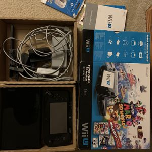 Wii U (32GB) plus 11 Games for Sale in Wethersfield, CT