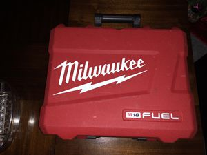 Milwaukee TOOL CASE ONLY for 1/2- Inch. Mid- Torque Fuel Cordless Impact Wrench: Model 2861-21ct for Sale in Boston, MA