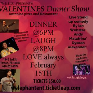 Valentine's Dinner Show for Sale in Reading, PA
