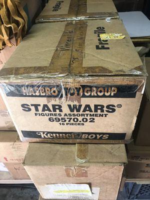 Vintage Star Wars Toys 70's (complete set) for Sale in Marina del Rey, CA