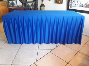 ✳️Table cloth For sale $20.00 Firm price For regular table 6ft for Sale in Rancho Cucamonga, CA