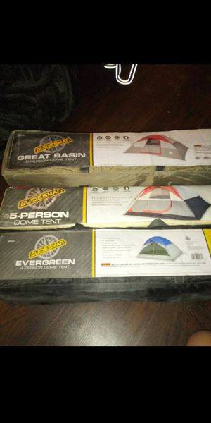 3 brand new camping tents for Sale in Indianapolis, IN