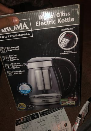 Aroma digital glass electric kettle for Sale in Los Angeles, CA