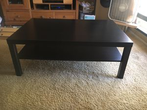 IKEA LACK coffee table in black for Sale in San Diego, CA