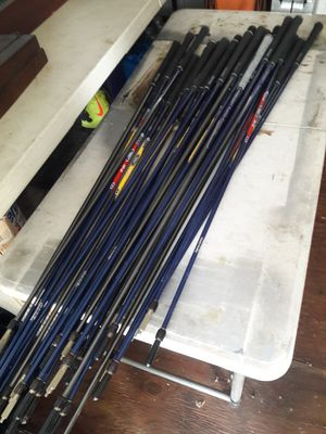 31 brand new golf shafts sticks with grips for Sale in Aiea, HI