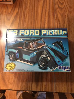 Mpc 1988 Model Kit 1/25 53 Ford Pickup Flip Nose Complete for Sale in Chicago, IL