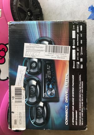 4 speaker car audio system package for Sale in Fresno, CA