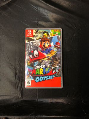 Nintendo Switch Game- Super Mario Odyssey for Sale in Fullerton, CA