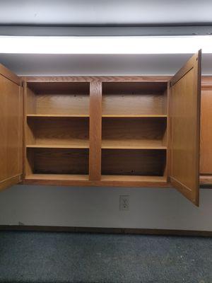 Garage cabinets/ kitchen cabinets Oak for Sale in Federal Way, WA