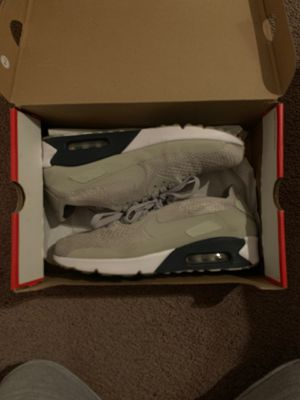 Nike Air Max 90 Ultra 2.0 Flyknit size 10.5 (Pale Grey) for Sale in Los Angeles, CA