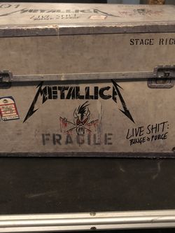 Metallica Live Shit; Binge & Purge Us Box Set!! for Sale in San Antonio,  TX