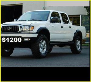Price$1200 Toyota Tacoma for Sale in Cambridge, MA