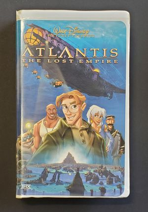 Disney Atlantis - Lost Empire VHS for Sale in Greer, SC