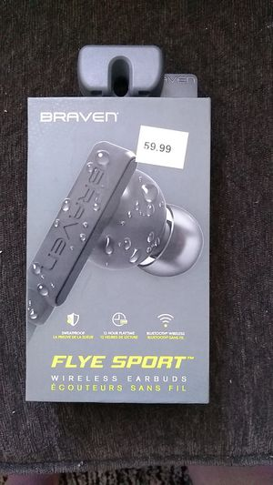 Brand new braven wireless earbuds for Sale in West Valley City, UT