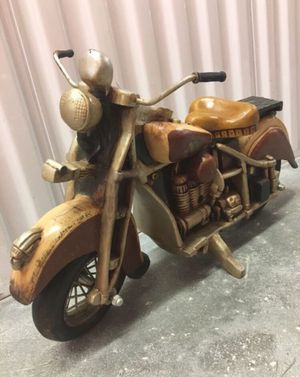 "30"" 'Indian Motorcycle Wood Decor for Sale in Parkland, FL"