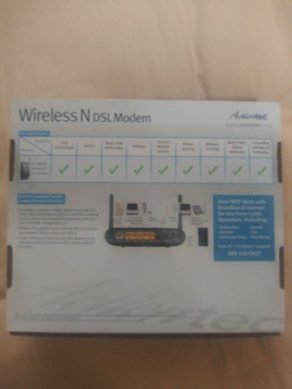 Actiontec DSL Modem/Router in one $22