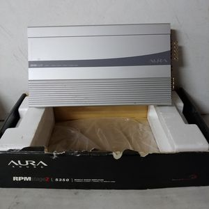 Rare Aura Sound RPM Stage 2 Model 5350 5 Channel Car Audio Amplifier for Sale in Grove City, OH