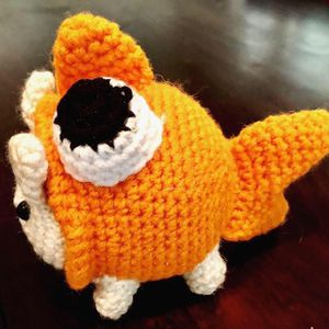 Handmade Crocheted Goldfish Cat Plushie! (Up for trade) for Sale in Sacramento, CA