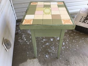 Antique Tile Table for Sale in Columbia, SC