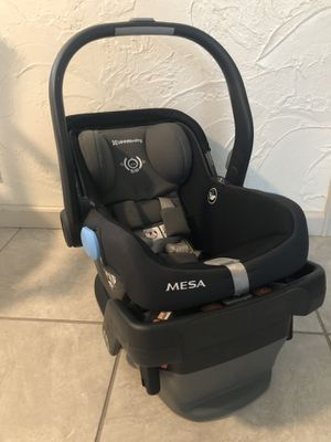 UPPABaby Car Seat & Base (2018 Mesa) for Sale in Denver, CO