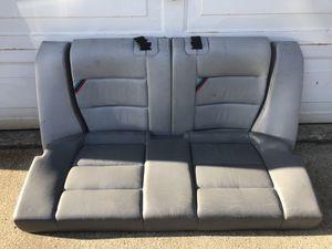 E36 m3 dove grey rear back seat for Sale in Tacoma, WA