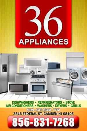 36 appliances for Sale in Pennsauken Township, NJ