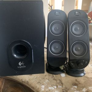 Logitech Piece Dual Drive Speakers with Ported Subwoofer for Sale in Ashburn, VA