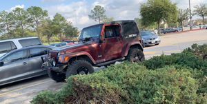 2004 Jeep Wrangler TJ 100,000 miles Great Jeep for Sale in Magnolia, TX