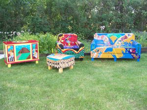 Outdoor Suite Home Chicago Outdoor or Indoor Furniture Set for Sale in Northbrook, IL