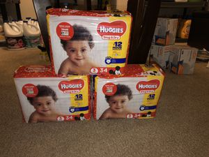Huggies size 3 for Sale in Southgate, MI